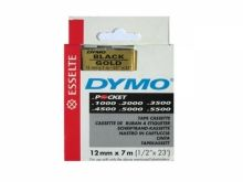 DYMO D1 43610 noir/transparent