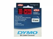 DYMO D1 45800 noir/transparent