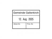 Datum mit 3 individuellen Texten