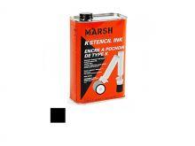 MARSH K-Schablonen-Tinte, schwarz