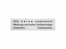 WUWI Standard-Schild klein- Bitte keine una..