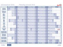 Tableau de planning annuel BEREC, B-5605 / ..