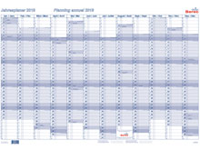 Tableau de planning annuel BEREC B-5670 TF ..