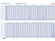 Tableau de planning annuel BEREC B-5702 TF ..