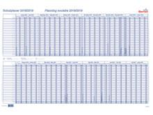 Tableau de planning scolaire BEREC B-5703 T..