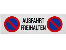 """Parkplatzschild """"AUSFAHRT FREIHALTEN"""""""