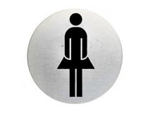 "WUWI Piktogramm ""WC-Damen"" klassisch"