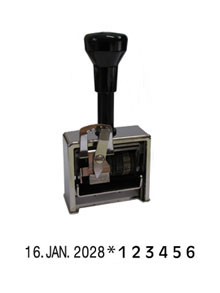 REINER Numeroteur/Dateur Model 8