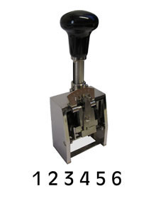 Reiner Numeroteur B 6 chiffres 8 mm
