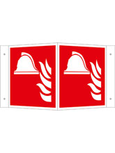 Brandschutzschild Alu Brandbekämpfung  Wink..