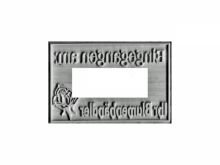 Textplatte zu TRODAT Professional 5474