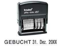 TRODAT Printy Dater 4817