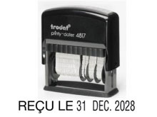 TRODAT Printy Dater 4817 f