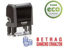 TRODAT Office Printy BETRAG DANKEND ERHALTEN