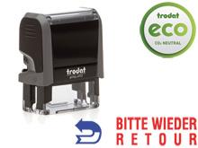 TRODAT Office Printy BITTE WIEDER RETOUR