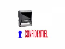 "TRODAT Office Printy 4.0, ""CONFIDENTIEL"""