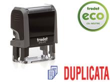 "TRODAT Office Printy 4.0, ""DUPLICATA"""