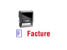 """TRODAT Office Printy 4.0, """"Facture"""""""