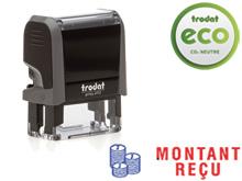 "TRODAT Office Printy 4.0, ""MONTANT RECU"""