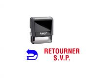 "TRODAT Office Printy 4.0, ""RETOURNER S.V.P."""