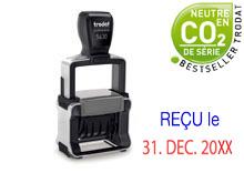 "TRODAT Professional Dater 5430.L1-f ""REÇU le"""