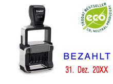 """TRODAT Professional Dater 5430.L2 """"BEZAHLT"""""""