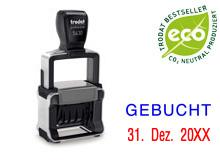 "TRODAT Professional Dater 5430.L3 ""GEBUCHT"""