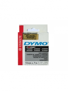 DYMO D1 43618 schwarz/gelb