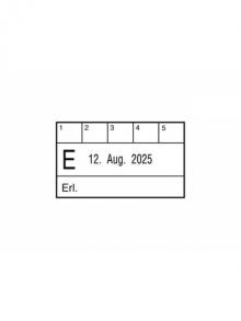 Zirkulation mit Datum