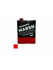 MARSH Rolmark-Tinte, rot