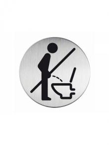 """WUWI Piktogramm """"WC-Bitte nicht im Stehen…"""""""