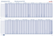 Tableau de planning annuel BEREC B-5702 / 2021