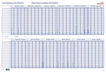 Tableau de planning scolaire BEREC B-5703 / 2021