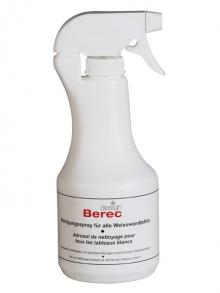 BEREC Reinigungsspray mit Zerstäuber für Weisswandtafeln, 1000 ml (910.003)