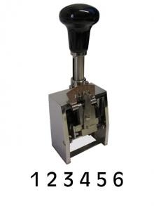 REINER Numeroteur B 6-stellig  8 mm