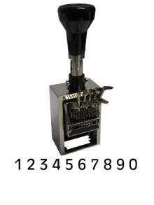 REINER Tastenstempel TA 10-stellig 3 mm