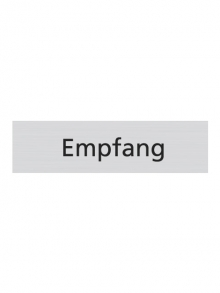 WUWI Standard-Schild - Empfang