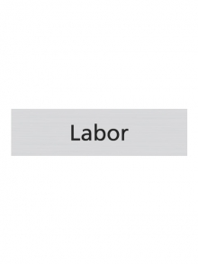 WUWI Standard-Schild - Labor