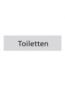 WUWI Standard-Schild - Toiletten