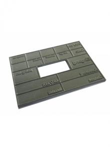 Textplatte zu COLOP Printer Dater 60/M
