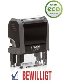TRODAT Office Printy BEWILLIGT